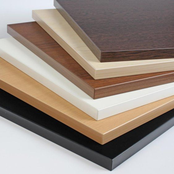 1500mm X 750mm Square 40mm Contract Laminate Table Top